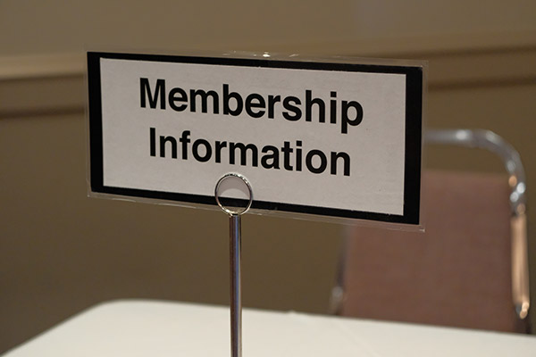 Ask about becoming a Member